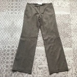 Old Navy Wool Blend Lined Low Waist Tweed Trousers